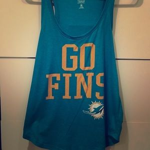 NFL Miami Dolphins Women's Go Fins Tank Top